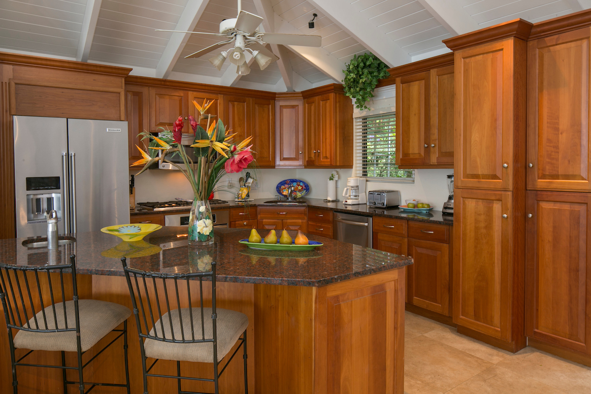 Floors And Kitchens St John Monte Bay Villa St John Us Virgin Islands Vacation Vistas