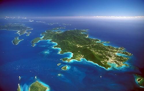 St John USVI Aerial Image